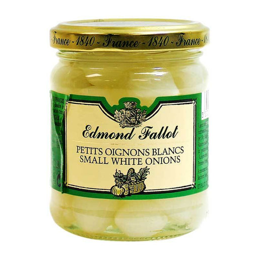 Edmond Fallot - Small White Onions in Vinegar, 6.7 oz.