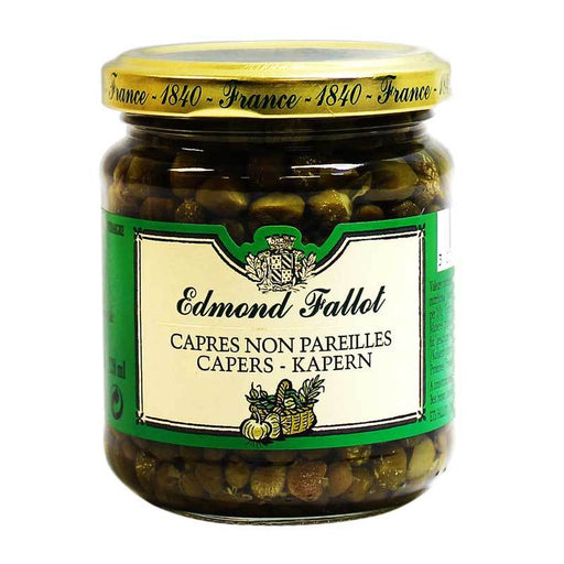 Edmond Fallot - Capers in Vinegar, 6.7 oz.