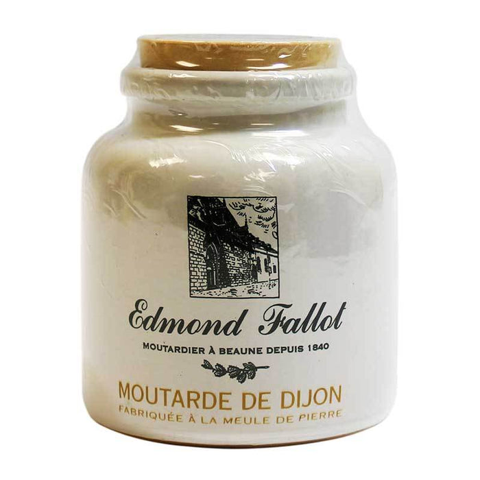 Edmond Fallot - Dijon Mustard in Crock, 9 oz.