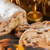 Fortwenger Butter Stollen with Fruit and Marzipan, 26 oz (750 g)