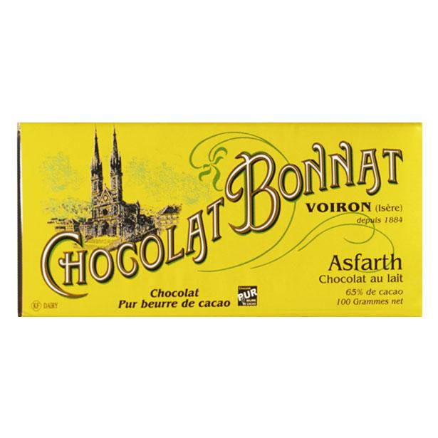Chocolat Bonnat Milk Chocolate, 65% Cacao, 3.5 oz (100 g)