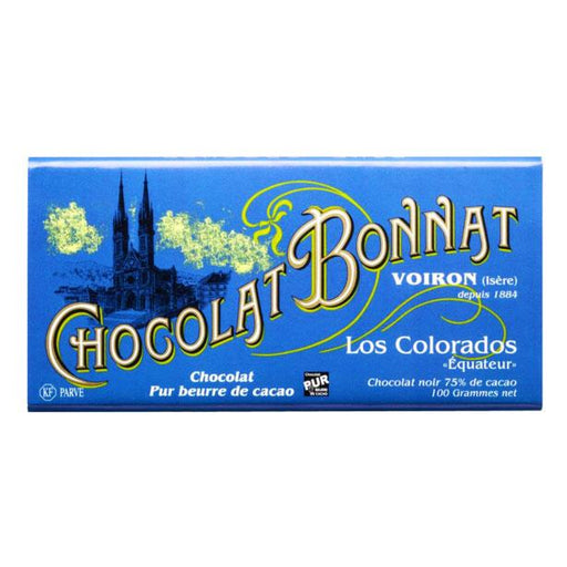 Chocolat Bonnat Los Colorados, 75% Cacao, 3.5 oz (100 g)