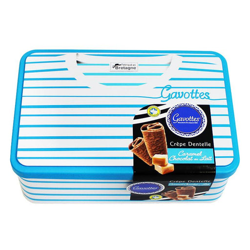 Gavottes Caramel Crepe Dentelle Sailor Tin, 7.05 oz (200 g)