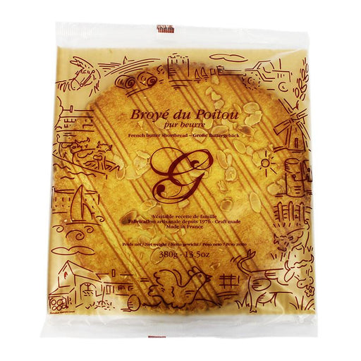 Goulibeur Broye du Poitou French Butter Shortbread, 13.5 oz (380 g)