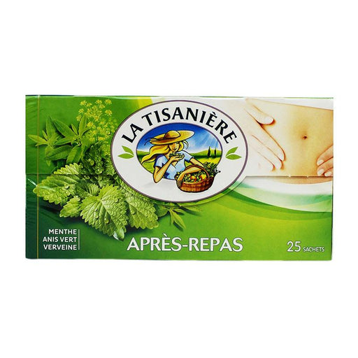 La Tisaniere After-Dinner Mint Herb Tea, 1.3 oz (37.5 g)