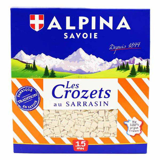 Les Crozets Buckwheat Pasta from Savoie by Alpina 14.1 oz. (400g)
