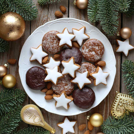 FREE Shipping | Lambertz Christmas Delight: Gingerbread Cookies & Cinnamon Stars