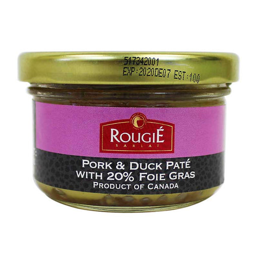 Rougie Perigord Pork and Duck Pate with 20% Foie Gras 2.8 oz
