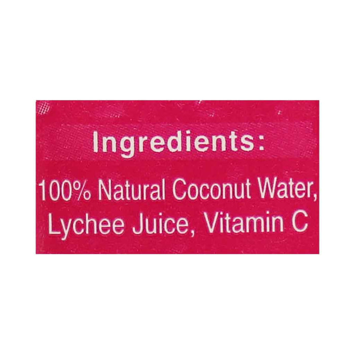 Foco 100% Pure Coconut Water with Lychee 11.2 fl. oz. (330mL)
