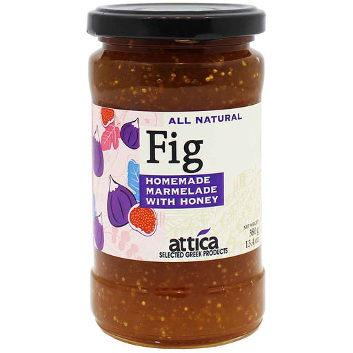 Attica Fig Marmelade with Honey 13.4 oz. (380g)