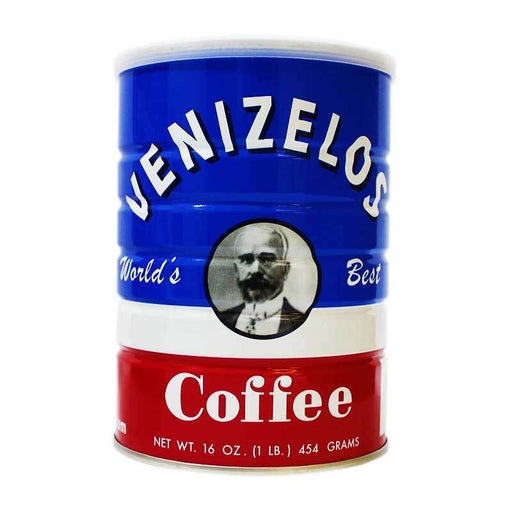 Venizelos Greek-Style Ground Coffee, 16 oz (454 g)