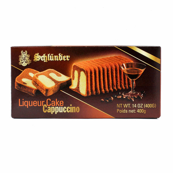 German Cappuccino Liqueur Cake By Schlunder 14 Oz