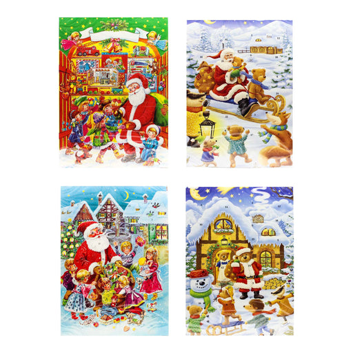 Muller & Muller WAWI Chocolate Advent Calendar, 4 Packs