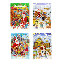 Muller & Muller WAWI Chocolate Advent Calendar 2018, 4 Packs