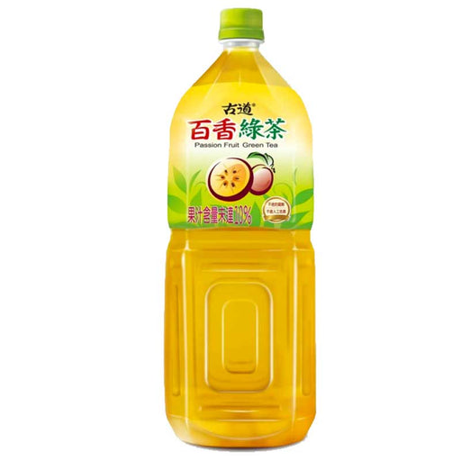 Gudao Passion Fruit Green Tea Drink, 67.6 fl oz (2L)