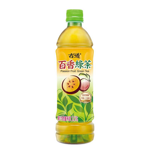Gudao Passion Fruit Green Tea Drink, 20.3 fl oz (600mL)