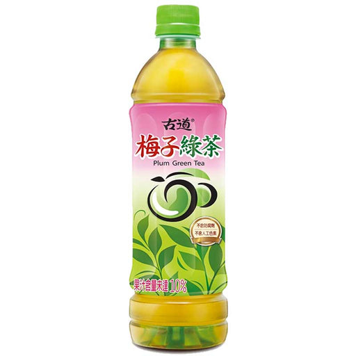 Gudao Plum Green Tea, 20.3 fl oz (600mL)