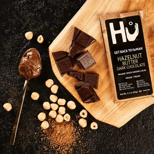 Hu Chocolate Hazelnut Butter Dark Chocolate, 2.1 oz (60 g)