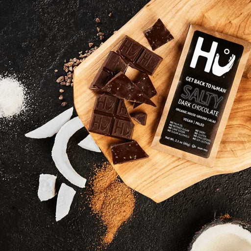 Hu Chocolate Salty Dark Chocolate Bar, 2.1 oz (60 g)