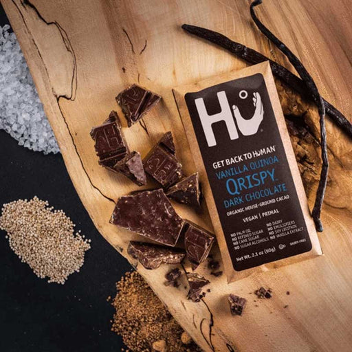 Hu Chocolate, Dark, Vanilla Quinoa, Qrispy Bar, 2.1 oz (60 g)