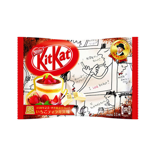 Nestle Kit Kat Mini Chocolate Strawberry Tiramisu Flavor, 4.5 oz (130 g)
