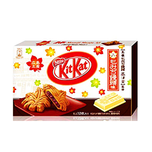 Red Bean Cake Kit Kat Special Edition, Box, 3 pcs, 1.3 oz (37 g)