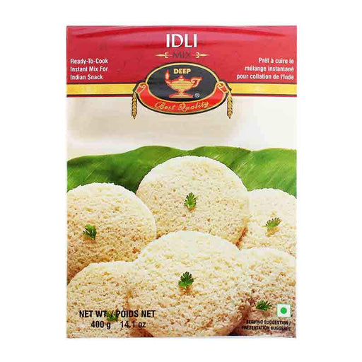 Idli South Indian Street Snack Steamed Rice Ball Mix, 14.1 oz (400g)