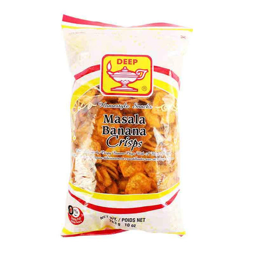 Deep Masala Banana Chips Spicy Flavor, 10 oz (283g)