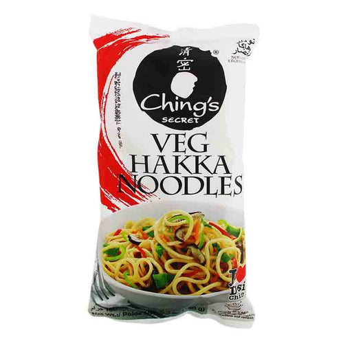 Ching's Secret Veg Hakka Indochinese Fried Noodles, Ready in 4 Minutes, 5.3 oz (150g)