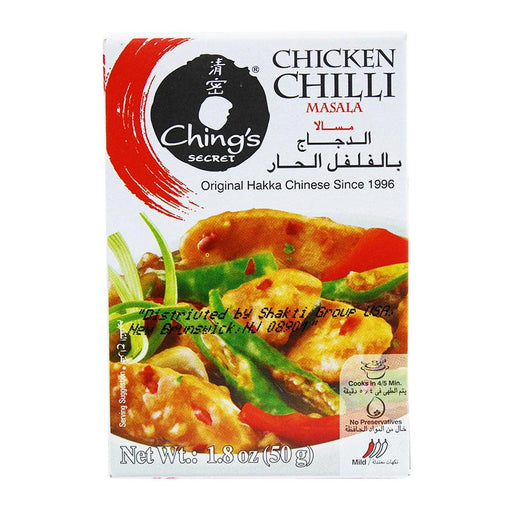 Ching's Secret Chicken Chilli Masala Spice Mix, 1.8 oz (50g)