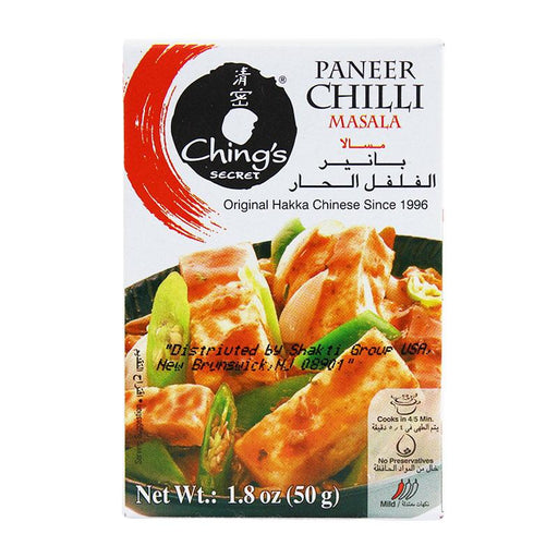 Ching's Secret Paneer Chilli Masala, Original Hakka Recipe, 1.8 oz (50g)