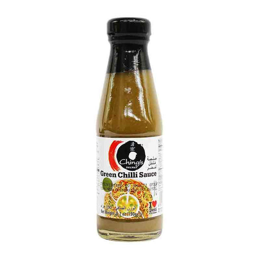 Ching's Secret Green Chili Sauce, Vibrant Zingy Heat, 6.7 oz (190g)