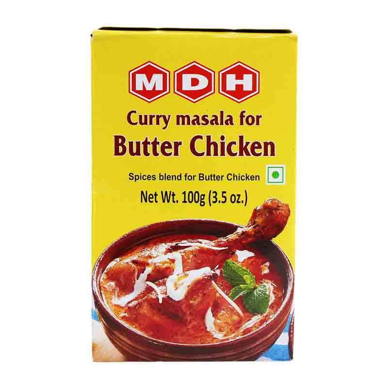 Mdh Butter Chicken Masala Spice Mix For Curry 3 5 Oz 100g Yummy Bazaar