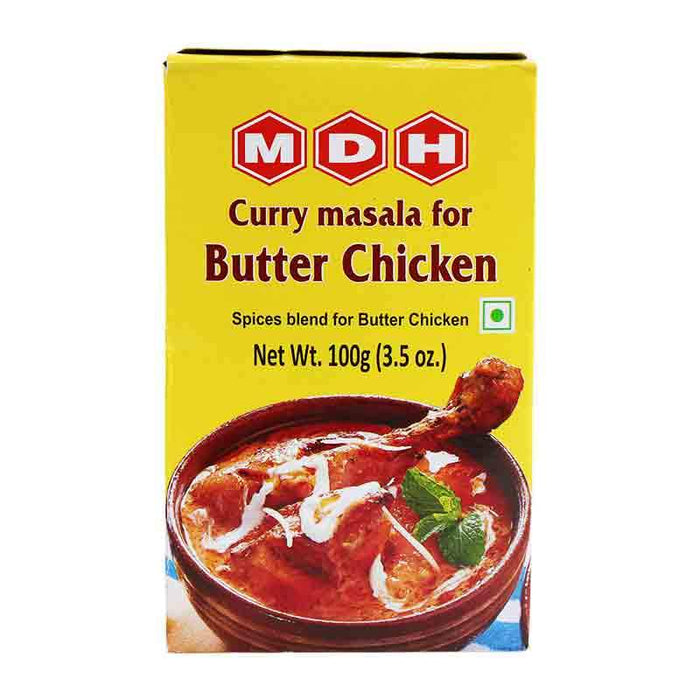 MDH Butter Chicken Masala Spice Mix for Curry, 3.5 oz (100g)