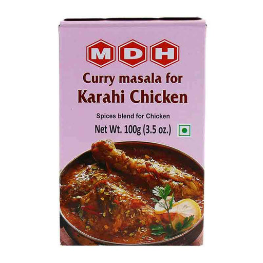MDH Karahi Chicken Masala Spice Mix for Indian Chicken Curry, 3.5 oz (100g)
