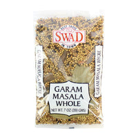 Garam Masala Spice Mix, Whole Spices by Swad, 7 oz (200g)