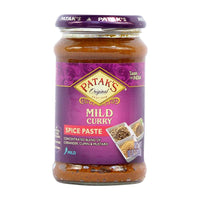 Mild Curry Paste for Authentic Indian Curry by Patak's, 10 oz (283g)