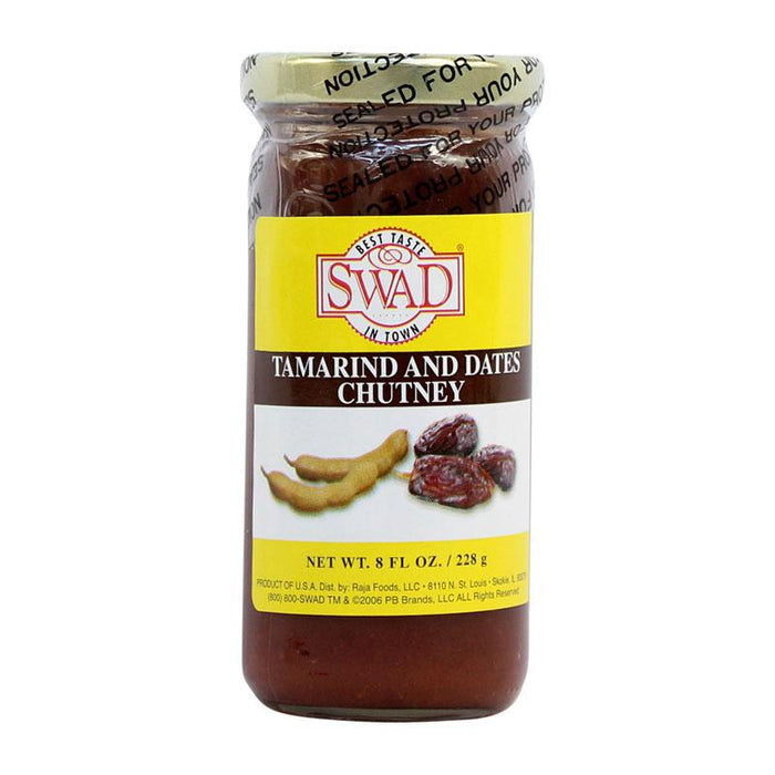 Swad Tamarind Dates Chutney, Sweet and Tangy, 8 fl oz (228g)