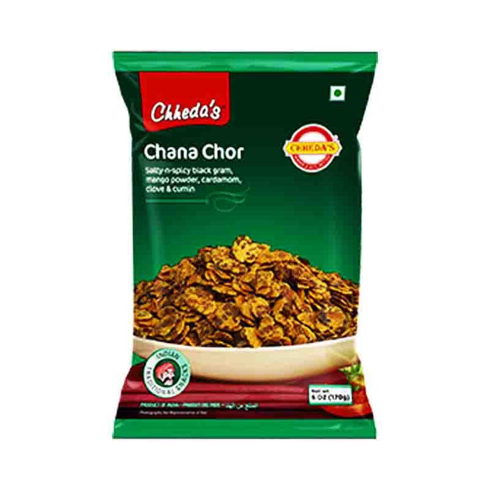 Chheda's Chana Chor Spicy Chickpea Snack, 6 oz (170g)