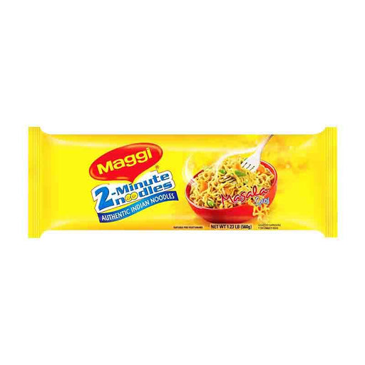 Maggi Masala Noodles, Instant Noodles with Masala Spice Packet, 19.8 oz (560g)