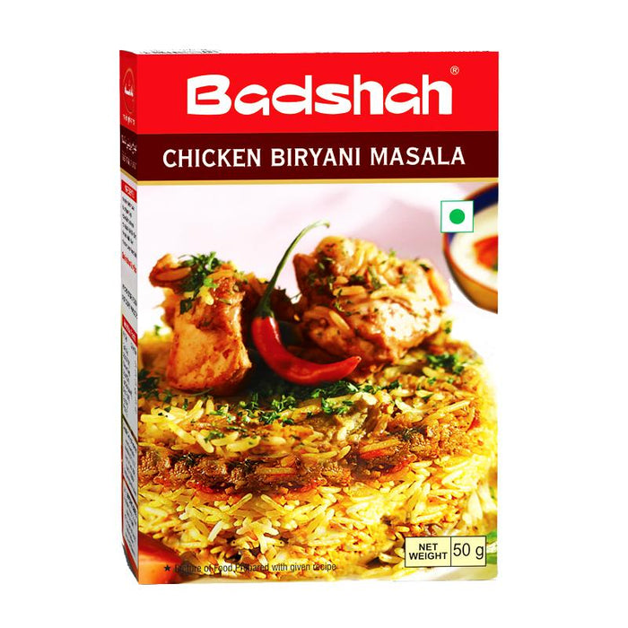Badshah Chicken Biryani Masala, Spice Mix for Chicken Biryani, 3.5 oz (100g)