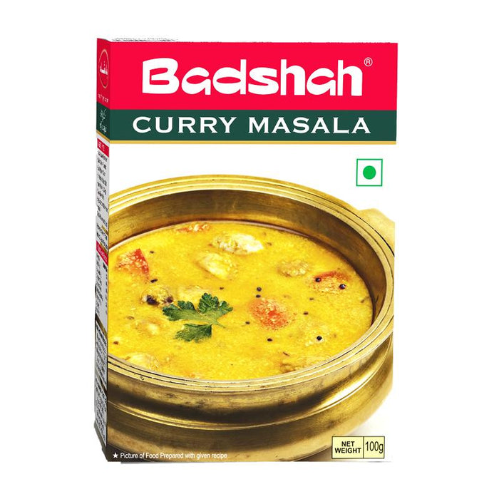 Badshah Curry Masala Spice Mix for Indian Curry, 3.5 oz (100g)