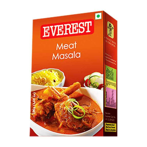 Everest Meat Masala, Spice Blend for Indian Meat Curry, 3.5 oz (100g)