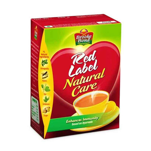 Brooke Bond Red Label Natural Care Tea with Ayurveda Spice Mix, 17.6 oz (500g)