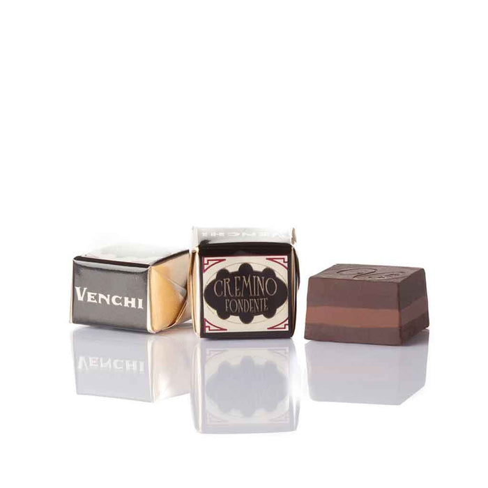 Venchi Cremino Triple-Layered Dark Hazelnut and Almond, 2.2 lb (1 kg)