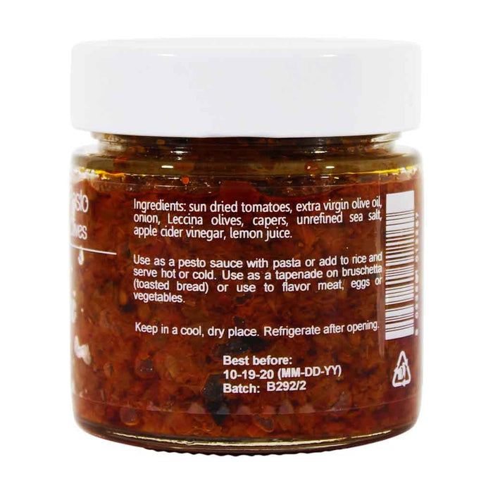 I Contadini Sundried Tomato Pesto with Capers and Olives, 8.1 oz.