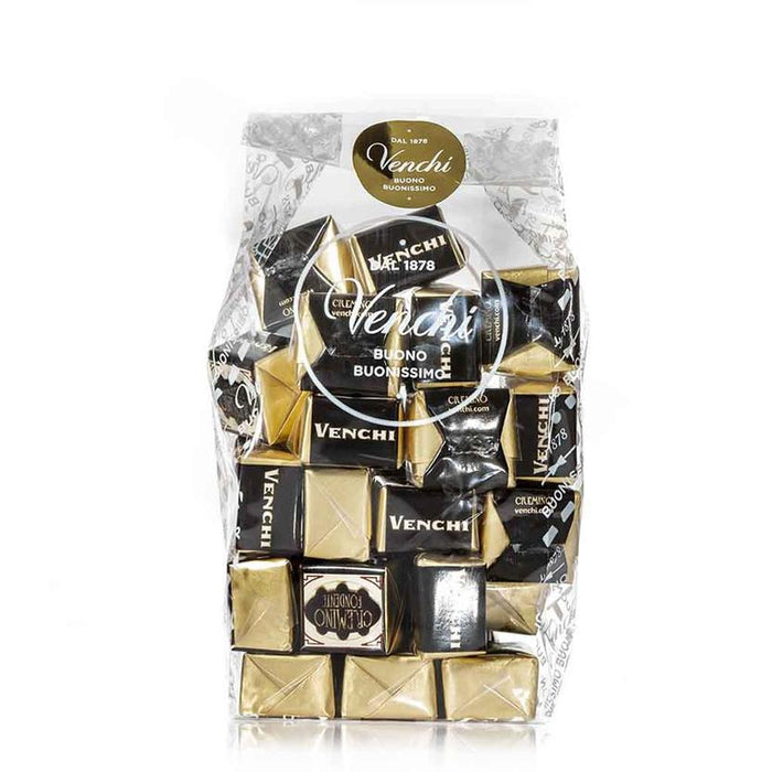 Venchi Cremino Triple-Layered Dark Hazelnut and Almond, 10 pc