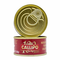 Callipo Solid Light Tuna in Olive Oil, Yellowfin, 8.4 oz (240 g)
