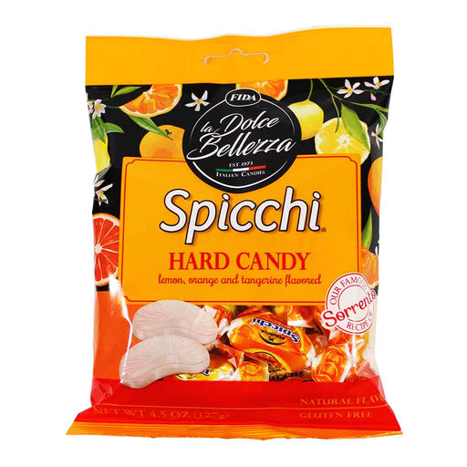 Fida Spicchi Citrus Hard Candy, 4.5 oz.