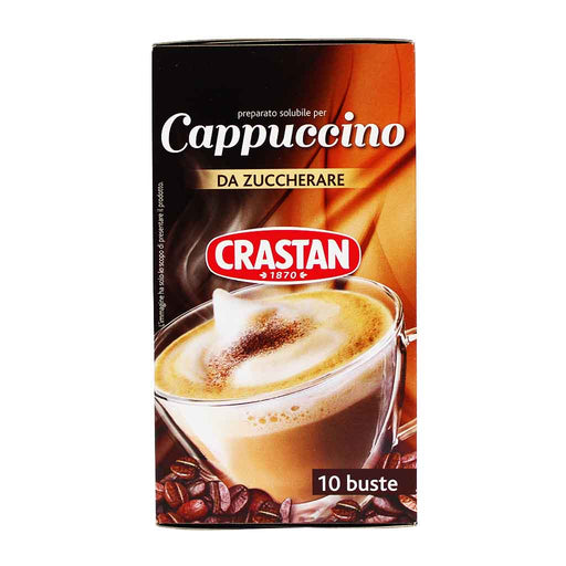 Crastan Instant Unsweetened Cappuccino, 4.4 oz.